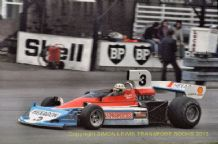 "Penske PC3 Magee Oulton Park  Shellsport Group 8  September 1976 10x7"" photo (A)"